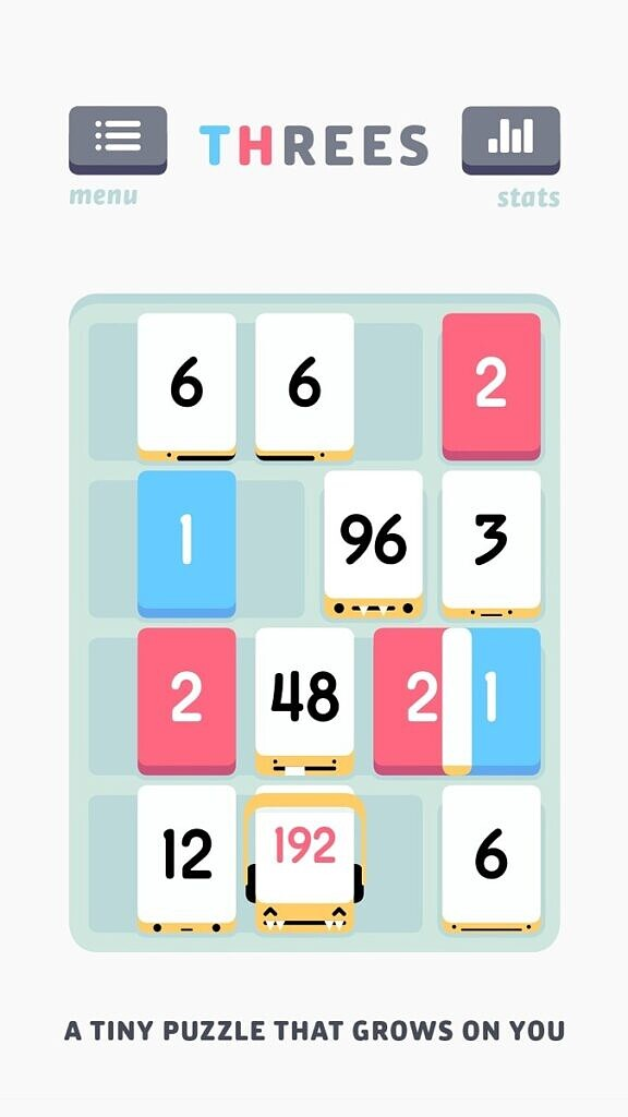 threes - gameplay