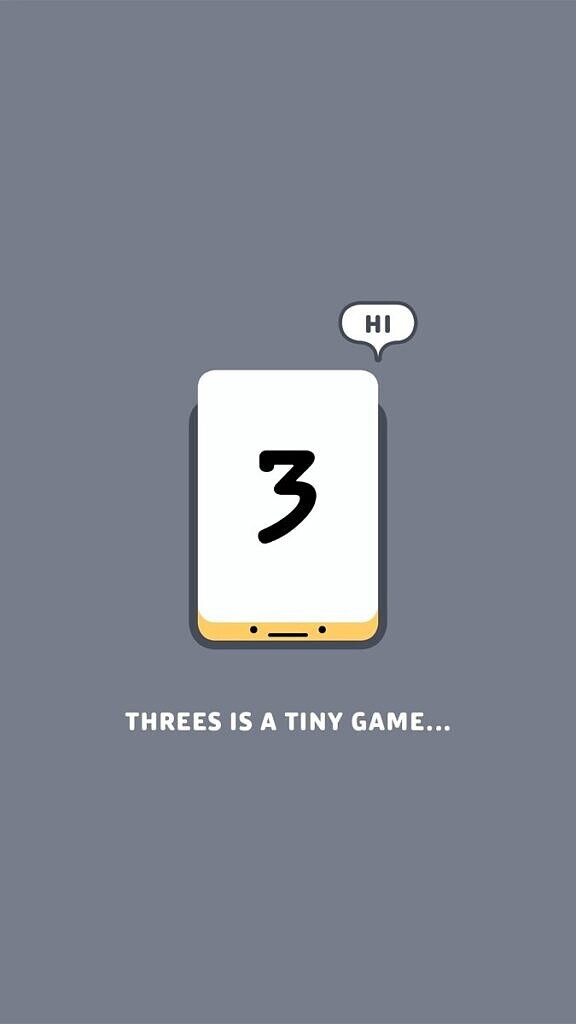 threes game mobile