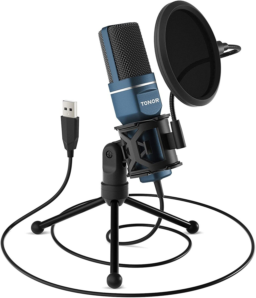 Tonor Microphone with Pop Filter