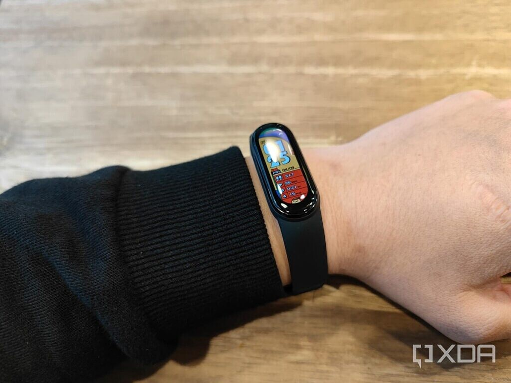 The Xiaomi MI Band 6 is comfortable to wear.