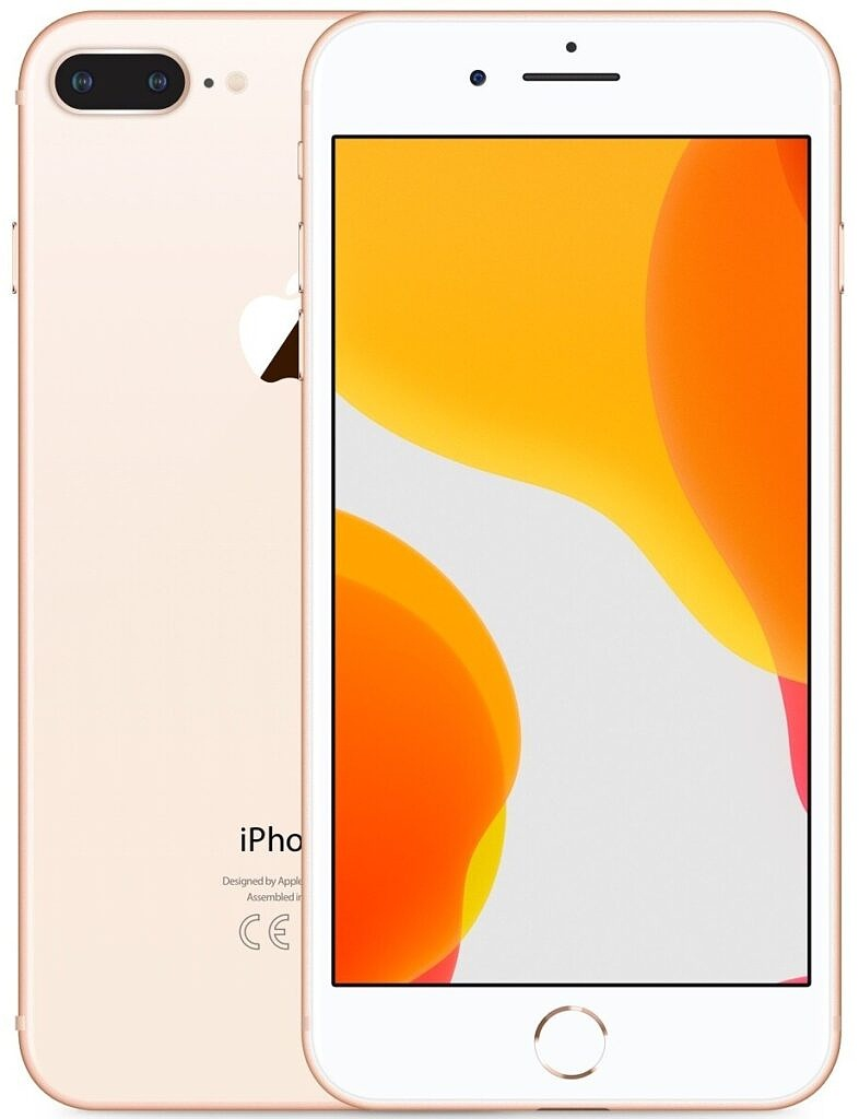The iPhone 8 in rose gold