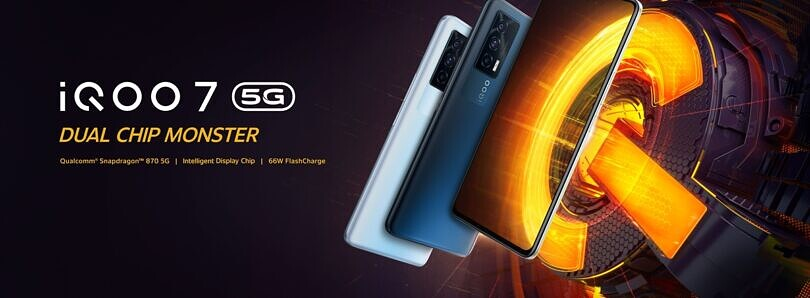 iQOO 7 series launched in India with 120Hz AMOLED display, Snapdragon 888 and 66W fast charging