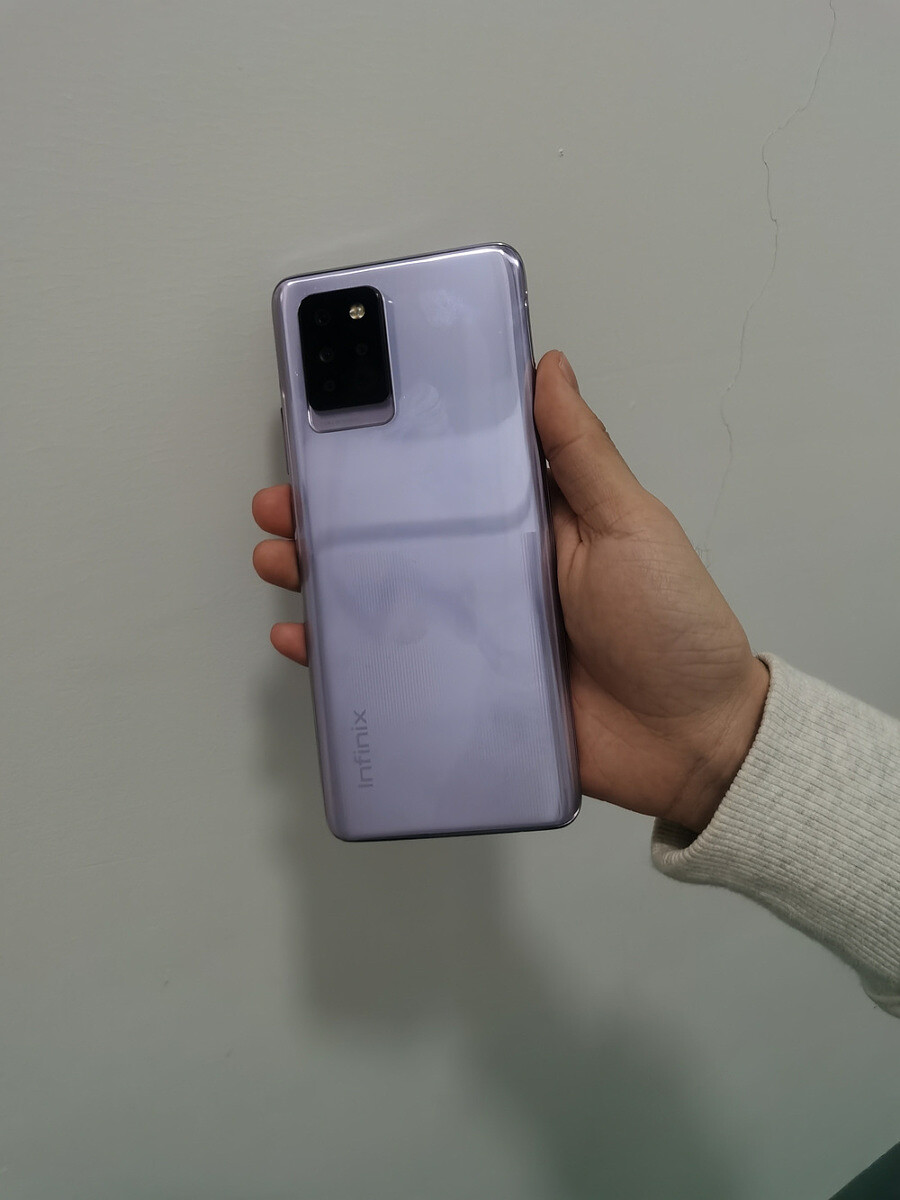 Exclusive: This is the upcoming Infinix Note 10 Pro in real life