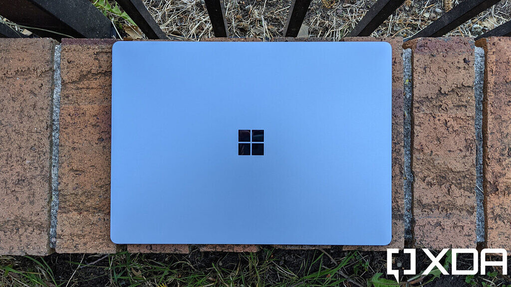 Surface Laptop 4 top-down view
