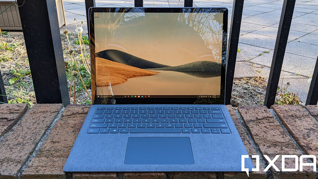 Surface Laptop 4 front view