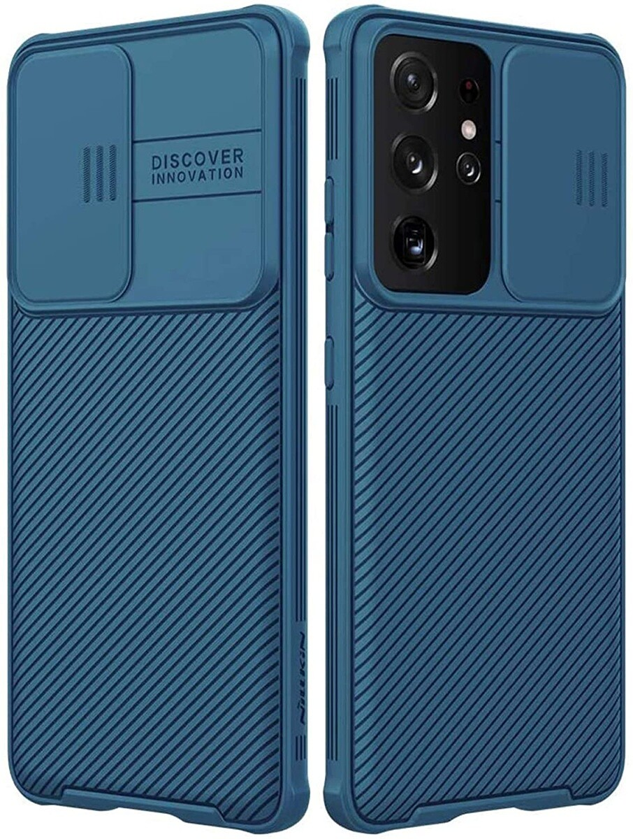 imluckies Galaxy S21 Ultra Case with Camera Cover