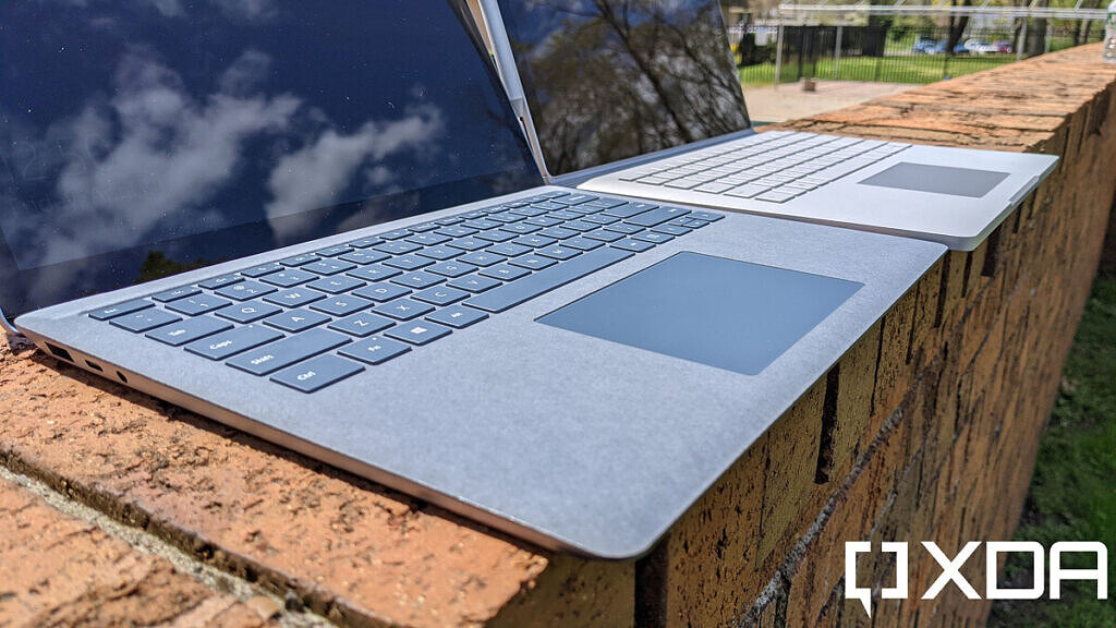 Surface Laptop 4 and Surface Book 3 keyboards