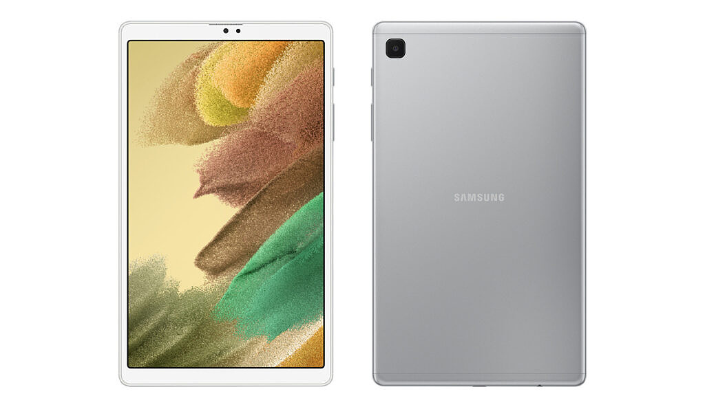 Galaxy Tab A7 Lite front and back