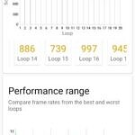 ASUS ZenFone 8 performance in 3DMark's Wildlife Extreme Stress Test with Dynamic Mode enabled