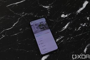 Display settings on the ASUS ZenFone 8