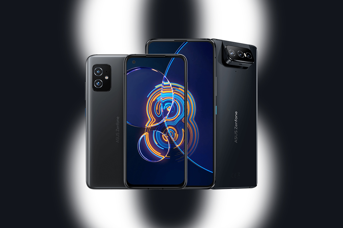 The compact ZenFone 8 is the centerpiece of ASUS' new flagship lineup