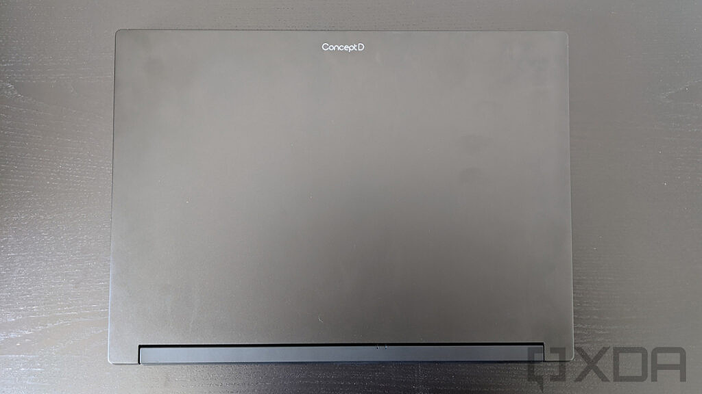 Top down view of the Acer ConceptD 5