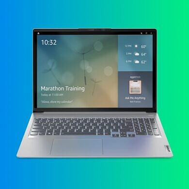 Some Lenovo laptops can now be turned into Amazon Alexa smart displays