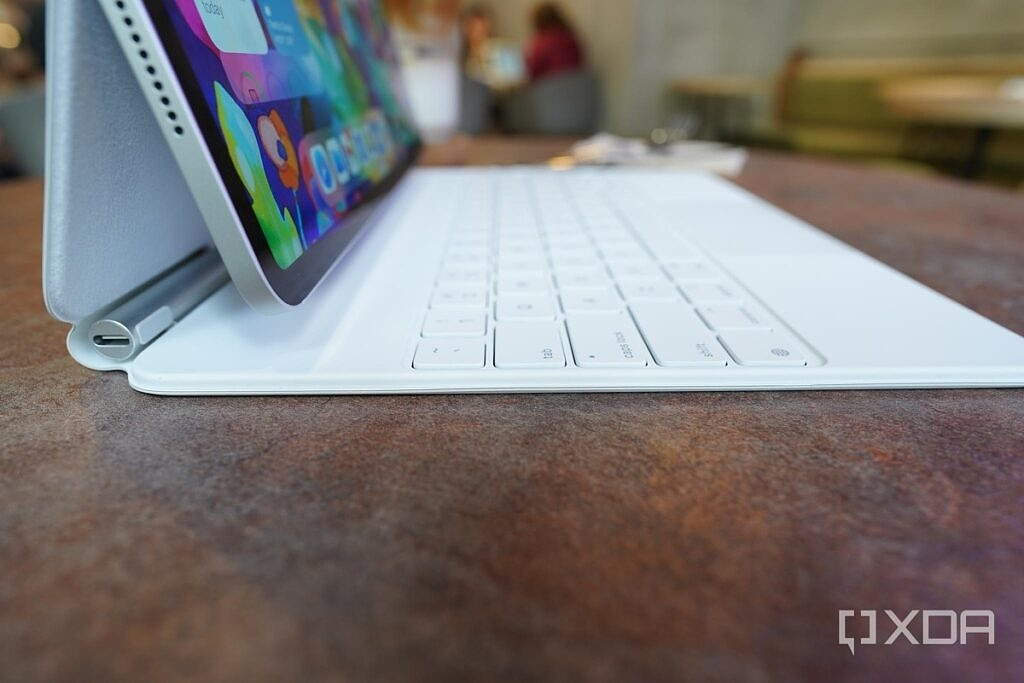 The keys of Apple's Magic Keyboard has excellent travel.