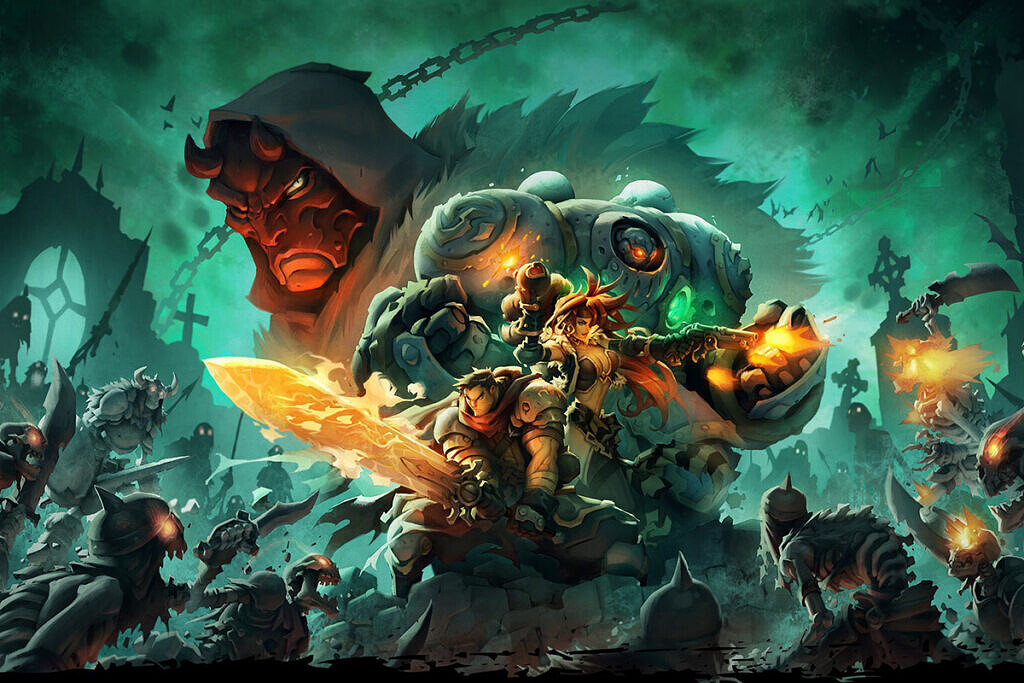 Battle Chasers Nightwar feature image