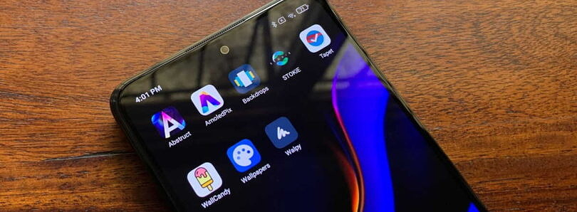Tired of your boring homescreen wallpaper? Change it up with these wallpaper apps for Android
