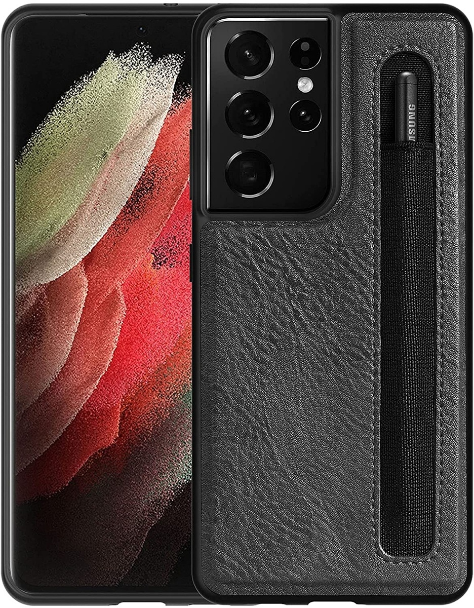 CloudValley Galaxy S21 Ultra Leather Case
