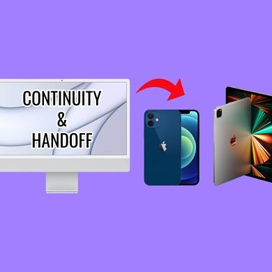Does the Apple iMac with M1 chip support Continuity and Handoff?