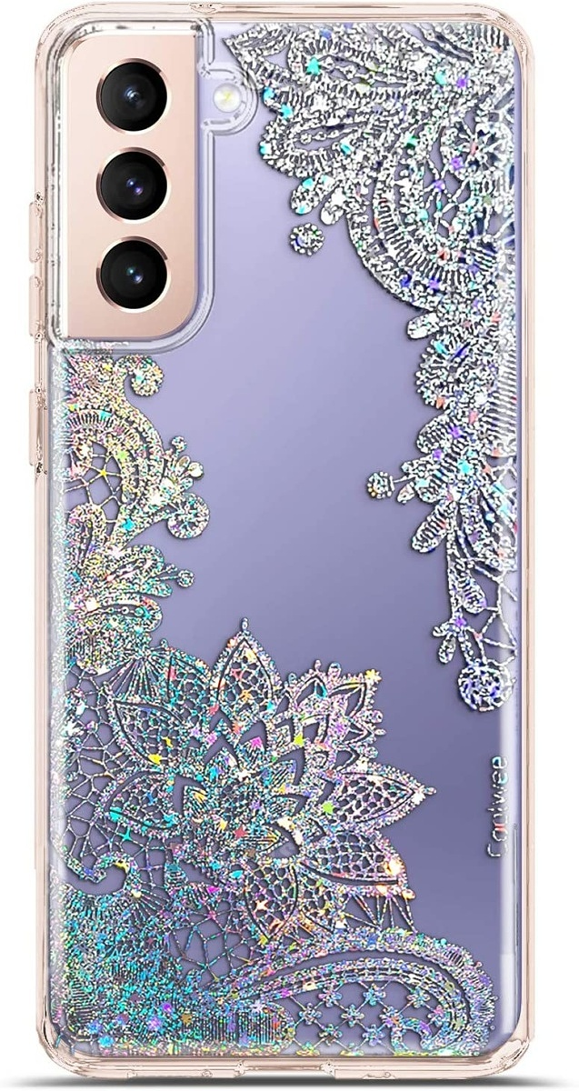 Coolwee Clear Glitter Case