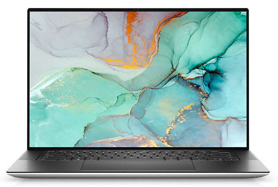 Dell XPS 15 9510 front view