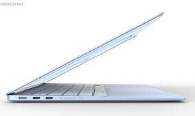 Apple's MacBook Air might come in pretty colors like the new iMac
