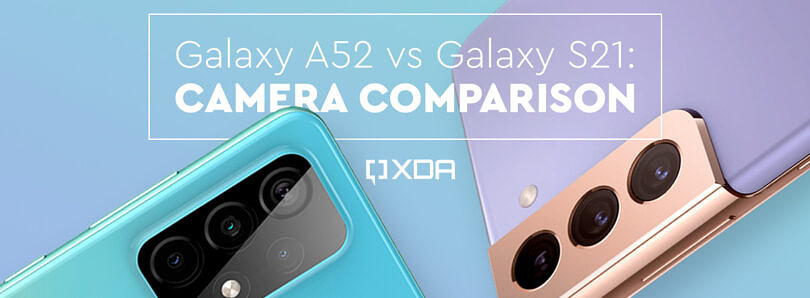 The Galaxy A52's camera can trade blows with the Galaxy S21