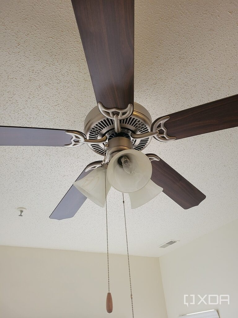 Photo of a ceiling lamp
