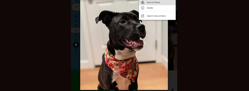 Gmail now lets you save images directly to Google Photos