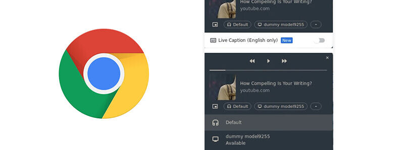 Google Chrome's media player is getting several new features and improvements