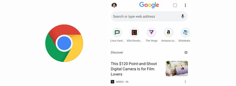 Google Chrome is trying really hard to get users to click on news articles