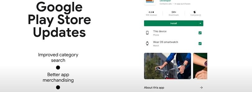 Google is making it easier to find and install apps to your Wear OS watch