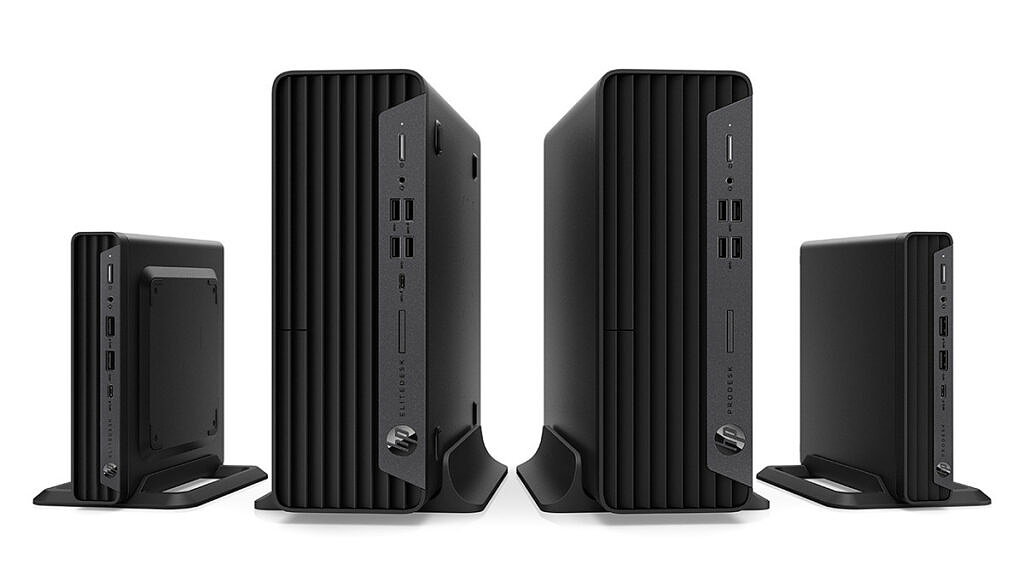 HP EliteDesk 805 G8 and ProDesk 405 G8 PCs in Mini and SFF form factors