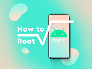 Graphic image representing how to root an Android smartphone