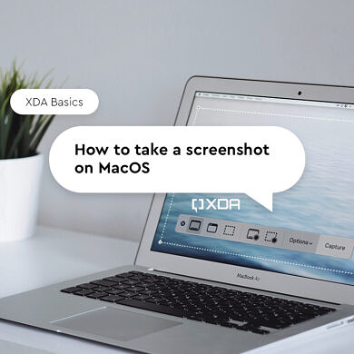 XDA Basics: How to take a Screenshot on macOS, using keyboard shortcuts, apps, and more!