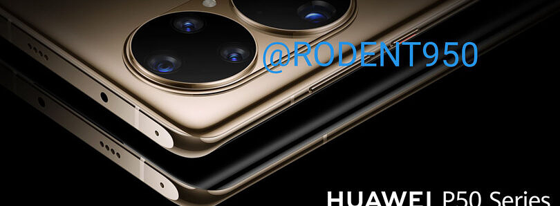 These renders give us our best look at the Huawei P50's absurd cameras