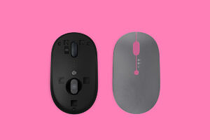 Lenovo Go Wireless Multi-Device Mouse with top removed