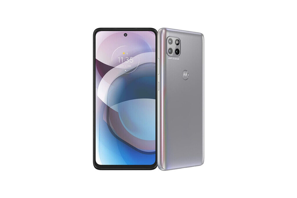 An image featuring Motorola One 5G Ace which supports Google Fi
