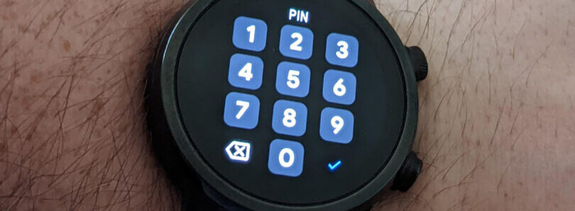 Gboard for Wear OS makes it easier to type the lockscreen PIN