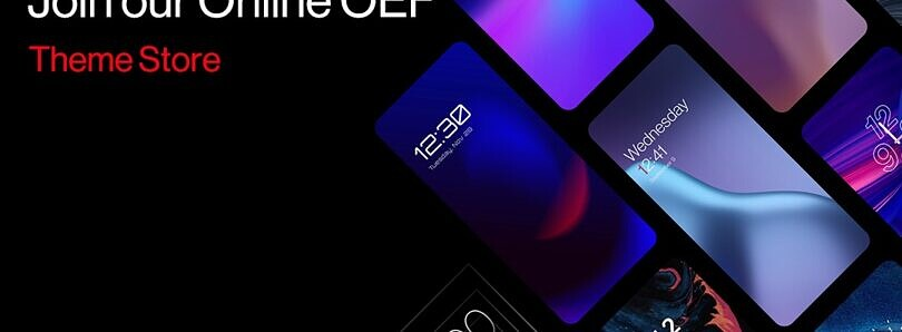 OnePlus phones will get a theme store with the Android 12 update
