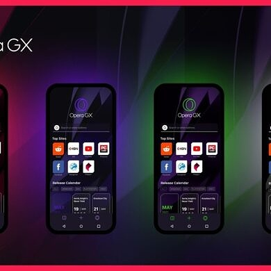 """Opera GX, the """"gaming browser"""", is coming to smartphones"""