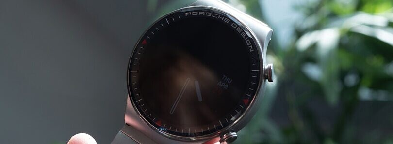 The Porsche Design Huawei Watch GT 2 is a luxury smartwatch with a luxurious price tag