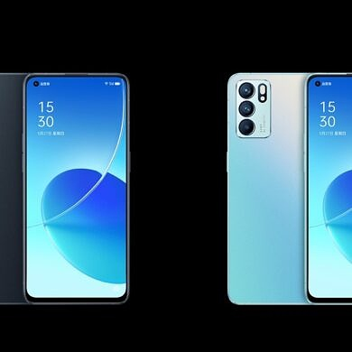 OPPO Reno 6 series renders and specs leaked ahead of launch