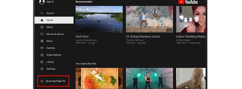 Google pushes back against Roku and puts YouTube TV in the YouTube app