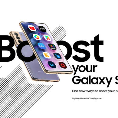 Samsung Boost wants to give you free access to several paid services on your Galaxy S21