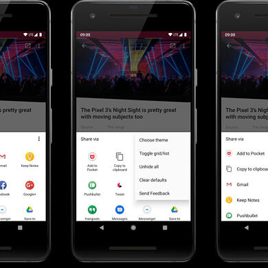 Android 12 blocks third-party apps from replacing the share sheet