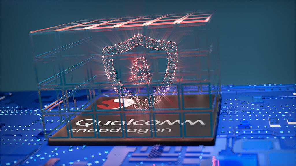 Qualcomm Snapdragon with security logo
