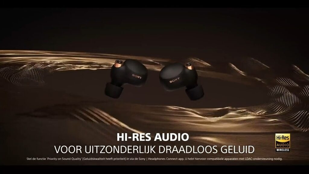 Hi-res audio support for Sony WF-1000XM4
