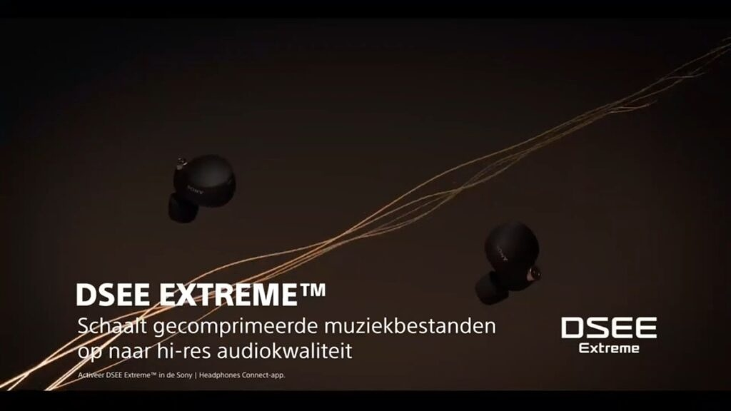DSEE Extreme support for Sony WF-1000XM4