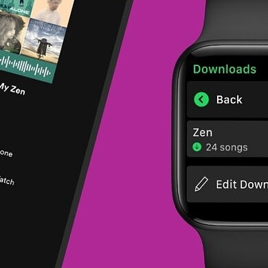 Spotify announces offline music downloads for Apple Watch