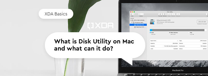 XDA Basics: What is Disk Utility on Mac and What can it do?